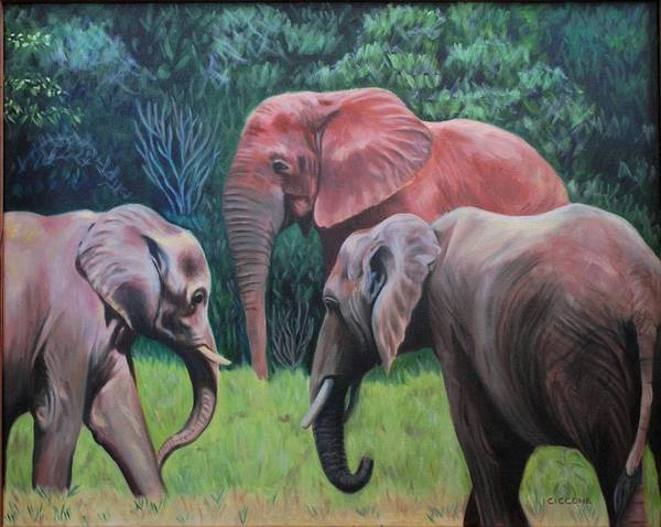 Painting - Trunk Show by Jill Ciccone Pike