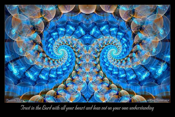 Digital Art - Trust In The Lord by Missy Gainer