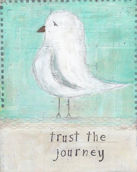 Wall Art - Painting - Trust The Journey by Cassandra Cushman