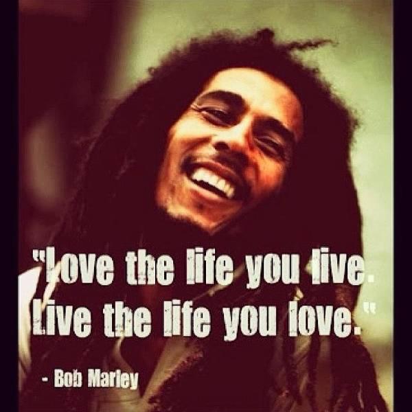 Jamaica Photograph - #truth #bobmarley #saying #quote #life by Scott Hamilton