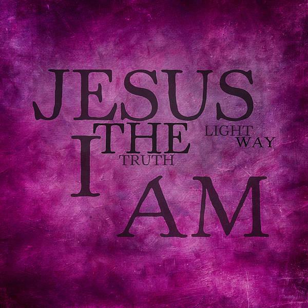 Lamb Of God Wall Art - Mixed Media - Truth Light Way 2 by Angelina Tamez