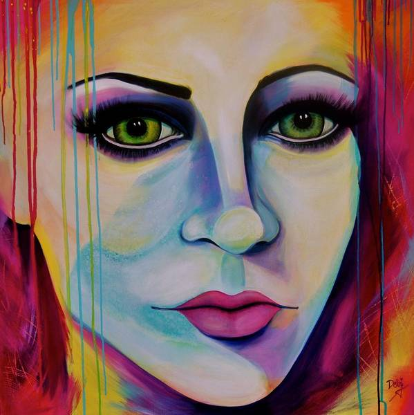 Wall Art - Painting - Truth Or Dare by Debi Starr