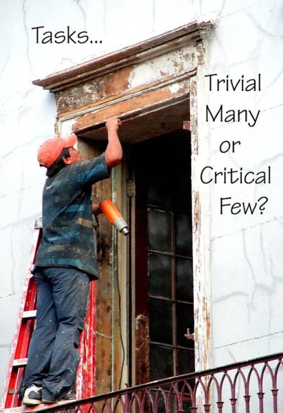 Photograph - Trvial Many Or Critical Few 21159 by Jerry Sodorff