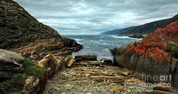 Photograph - Tsitsikamma Rocky Ocean by Glenda Wright