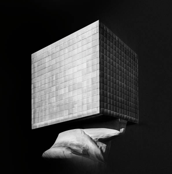 Cube House Wall Art - Photograph - T?te Carr?e, 2017 by Erik Brede