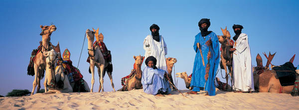Developing Country Photograph - Tuareg Camel Riders, Mali, Africa by Panoramic Images