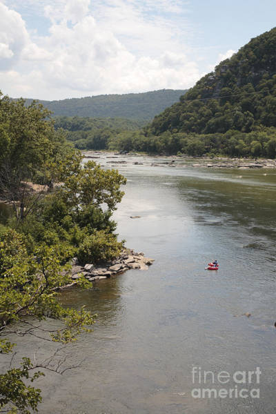 Maryland Wall Art - Photograph - Tubing On The Potomac River At Harpers Ferry by William Kuta