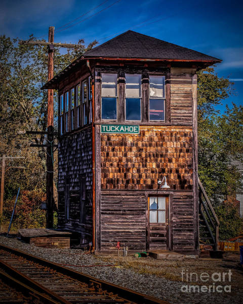 Photograph - Tuckahoe Switch Tower by Nick Zelinsky
