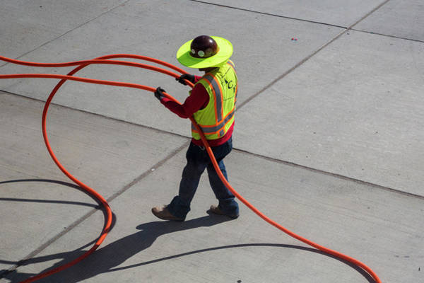Cabling Photograph - Tucson International Airport by Jim West/science Photo Library