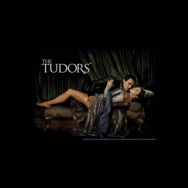 Shows Digital Art - Tudors - The King And His Queen by Brand A