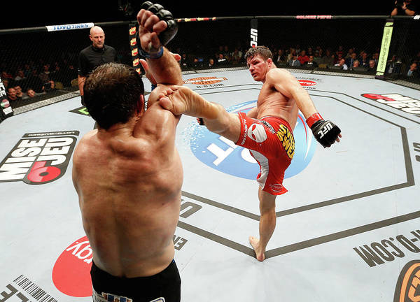 Quebec City Photograph - Tuf Nations Finale Bisping V Kennedy by Josh Hedges/zuffa Llc