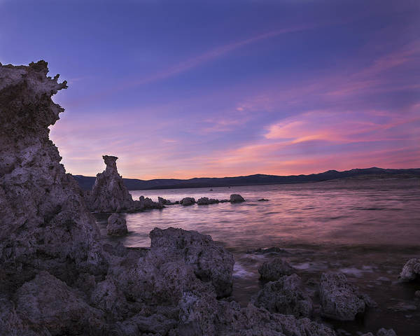 Photograph - Tufas Overlooking The Sunset by Denise Dube