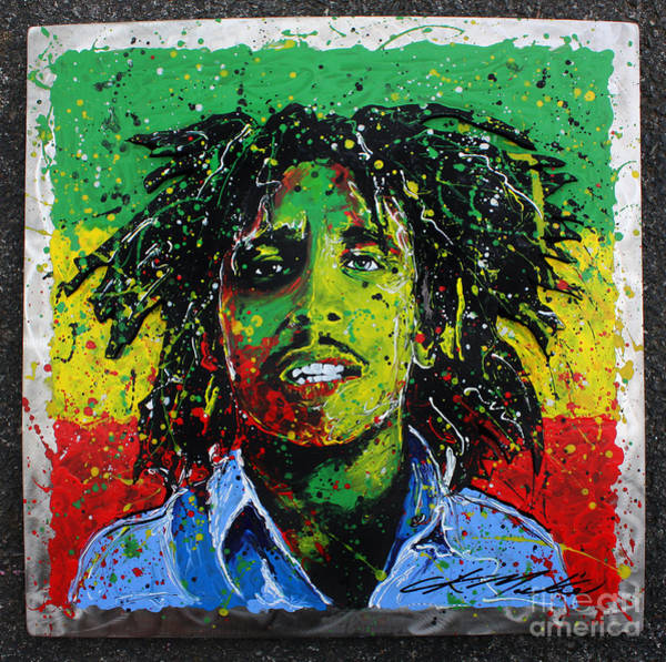 Painting - Tuff Gong by CK Mackie
