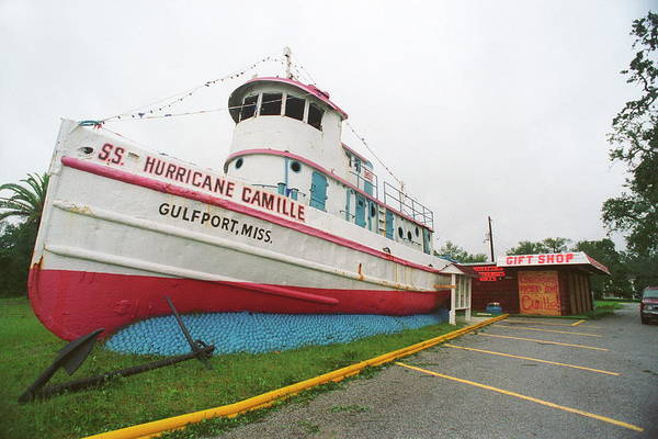 Gift Shops Photograph - Tug Boat \hurricane Camille\ by Jim Reed/science Photo Library
