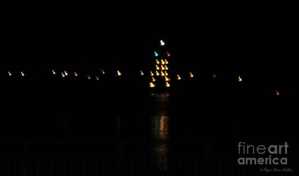 Photograph - Tug Boat Light Painting by Megan Dirsa-DuBois