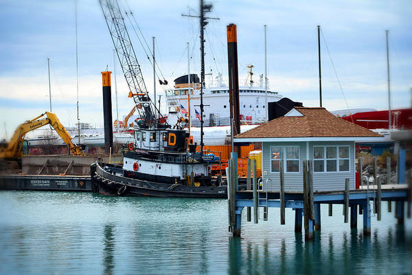 Photograph - Tug by Scott Hovind