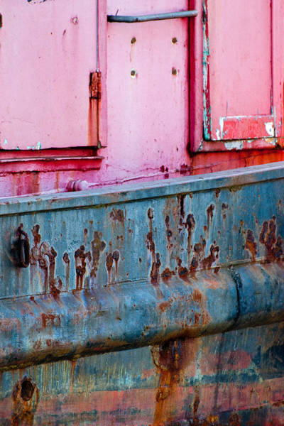 Photograph - Tugboat Abstract by Jani Freimann