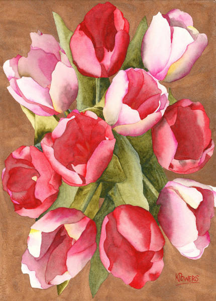 Painting - Tulip Bouquet by Ken Powers