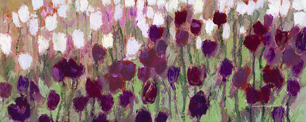Painting - Tulip Riot by J Reifsnyder