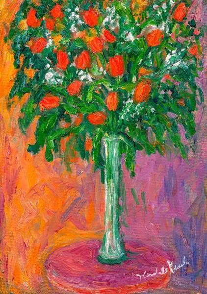 Painting - Tulip Swirl by Kendall Kessler