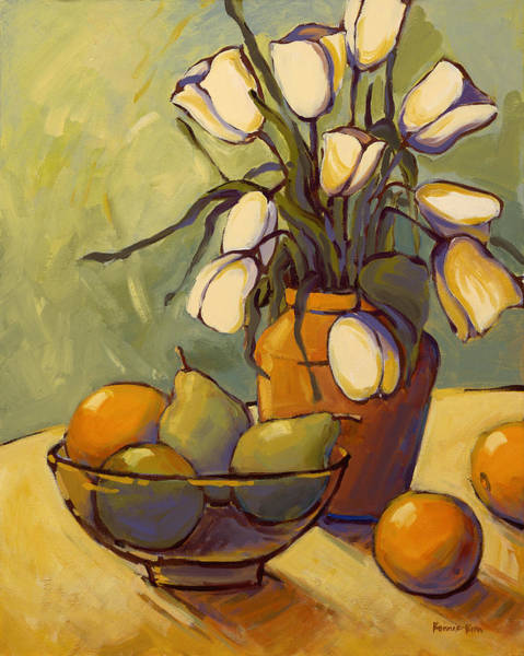 Painting - Tulips 2 by Konnie Kim