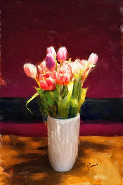 Painting - Tulips by Charlie Roman
