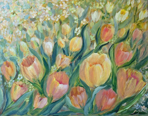 Painting - Tulips II by Joanne Smoley