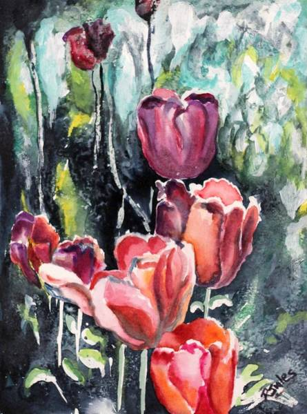 Painting - Tulips by Richard Jules