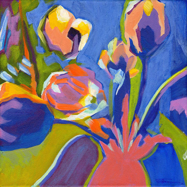 Painting - Tulip Variations  by Tanya Filichkin