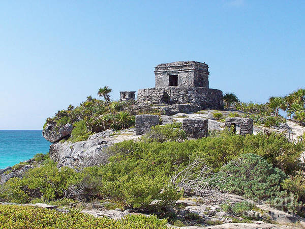 Photograph - Tulum Ruins Of Mexico - 1 by Tom Doud