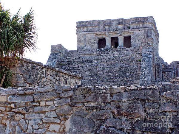 Photograph - Tulum Ruins Of Mexico - 7 by Tom Doud