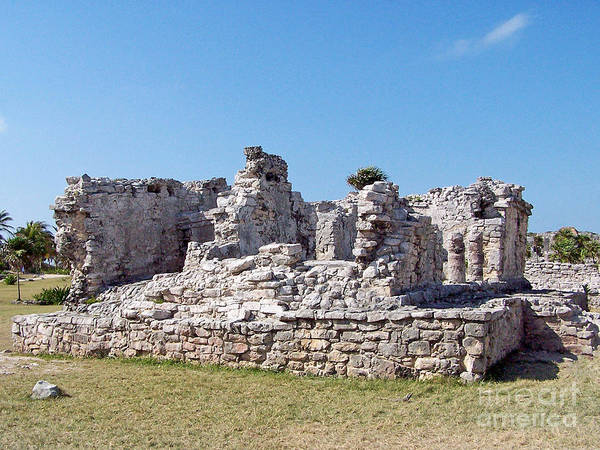 Photograph - Tulum Ruins Of Mexico - 9 by Tom Doud