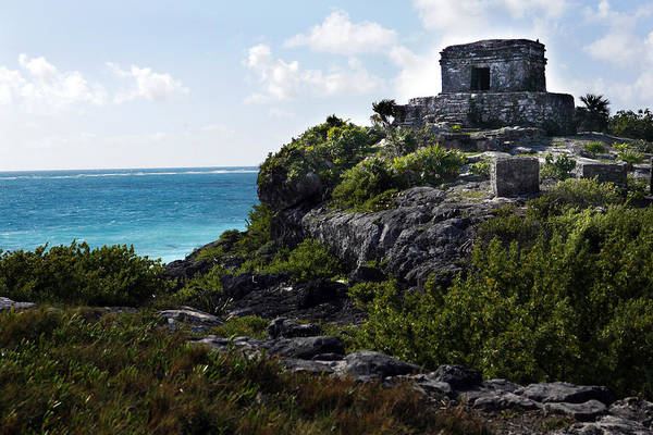 Photograph - Tulum And Beach 3 by Marilyn Hunt