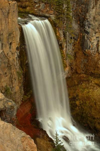Photograph - Tumalo Waterfall by Adam Jewell
