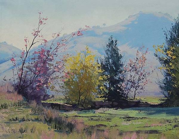 Australia Painting - Tumut Spring by Graham Gercken