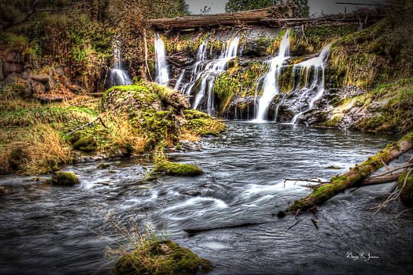Photograph - Tumwater Falls  by Barry Jones