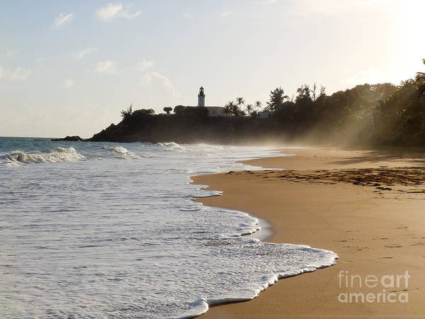 Photograph - Tuna Punta Lighthouse And Beach In Puerto Rico by G Matthew Laughton