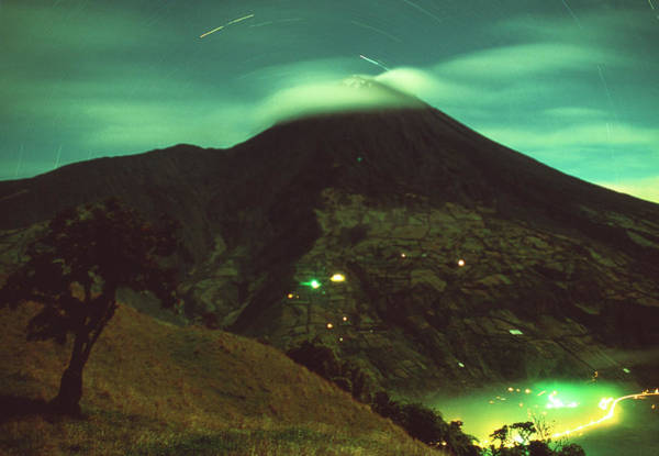 Active Volcano Photograph - Tungurahua Volcano by Sinclair Stammers/science Photo Library