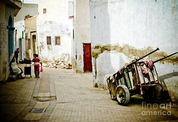 Art Print featuring the photograph Tunisian Girl by John Wadleigh
