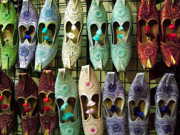 Photograph - Tunisian Shoes by Donna Corless