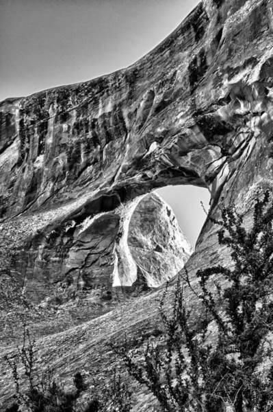 Wall Art - Photograph - Tunnel Arch In Blak And White by Juan Carlos Diaz Parra