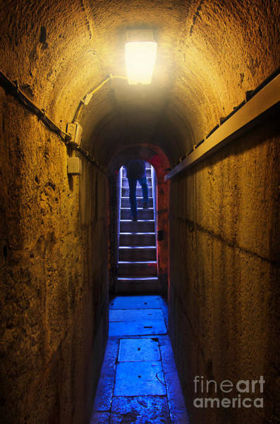 Ugliness Photograph - Tunnel Exit by Carlos Caetano