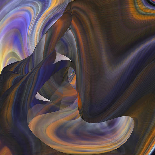 Digital Art - Tunnel Of Light And Color - Abstract by Roy Erickson