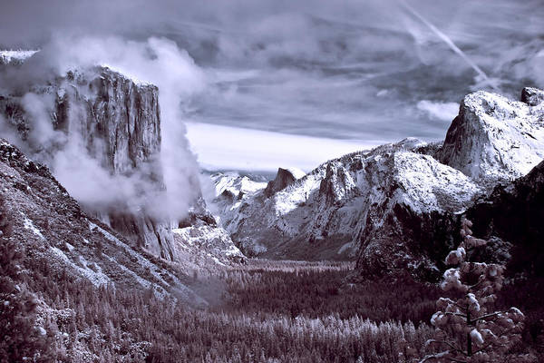 Photograph - Tunnel View In Yosemite by Alexis Birkill