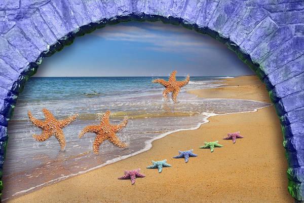 Decoration Day Digital Art - Tunnel Vision  by Betsy Knapp
