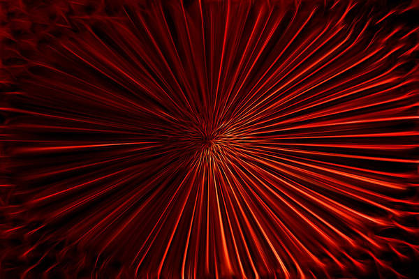 Photograph - Tunnel Vision In Red by Shelley Neff