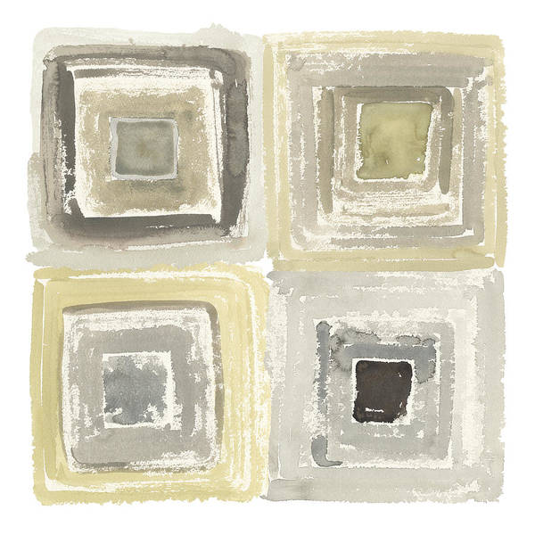 Neutral Painting - Tunnels Iv by Shirley Novak