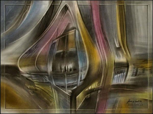 Tunnelscape 2010 Art Print