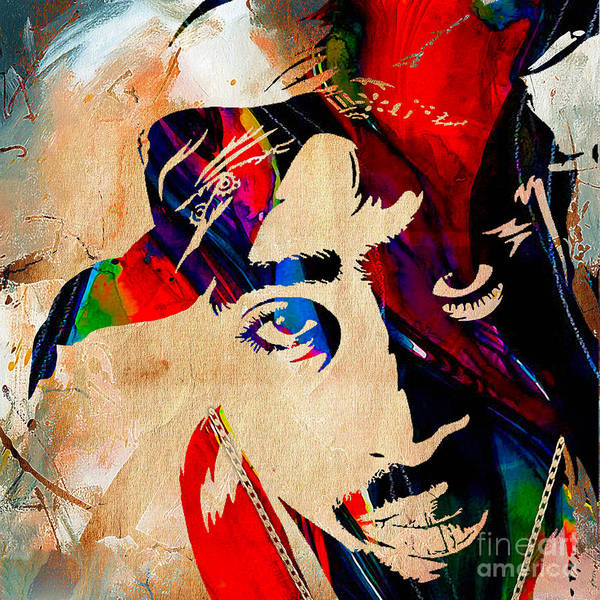 Rap Mixed Media - Tupac Collection by Marvin Blaine