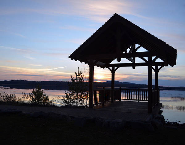 Tupper Lake Sunset Over Raquette Pond Art Print